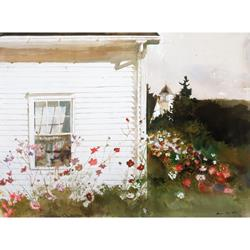 Around the Corner Art Print by Andrew Wyeth