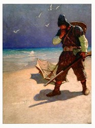 I Stood Limited Edition Reproduction by N.C. Wyeth