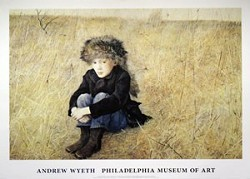 Faraway Art Poster by Andrew Wyeth