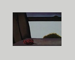 Open Window Matted Art Print