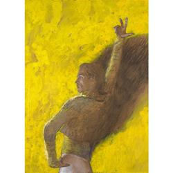 Nureyev/ Don Quixote Matted Art Print by Jamie Wyeth