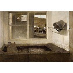 Spring Fed Limited Edition Reproduction by Andrew Wyeth