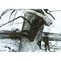 Buttonwood Tree Art Print by Andrew Wyeth