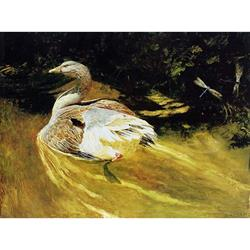 Dragonflies Art Poster by Jamie Wyeth