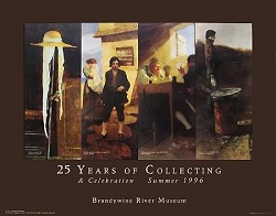 25th Anniversary of the Brandywine River Museum Poster