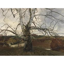Pennsylvania Landscape Art Print by Andrew Wyeth