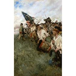 Nation Makers Art Print by Howard Pyle
