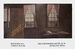 Her Room Art Poster by Andrew Wyeth