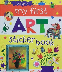 My First Art Sticker Book