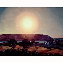 Late Afternoon, Monhegan Poster by Rockwell Kent