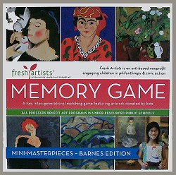 Memory Game Barnes Foundation