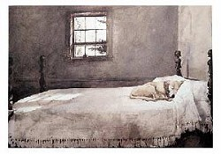 Master Bedroom Art Print by Andrew Wyeth,11-99-00058-2