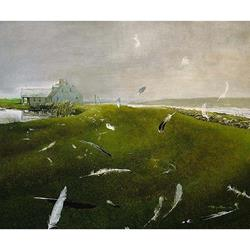 Airborne Limited Edition Art Print by Andrew Wyeth,11-99-06037-2