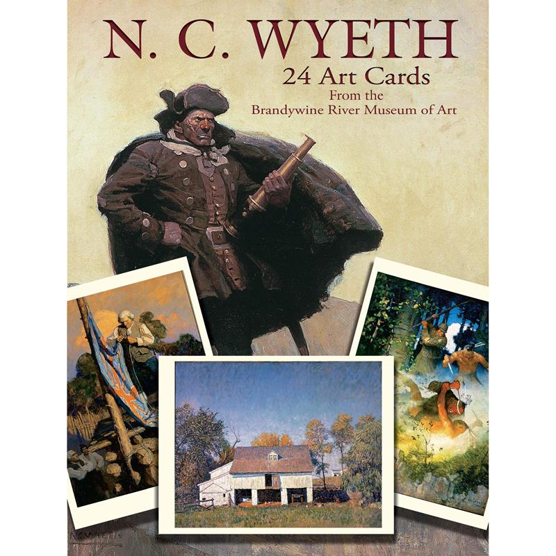 N.C. Wyeth Postcard Book,0-486-41069-2