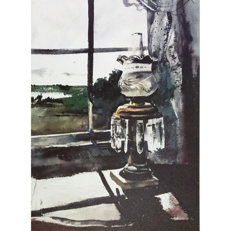 Crystal Lamp Print — Andrew Wyeth,11-99-00046-9