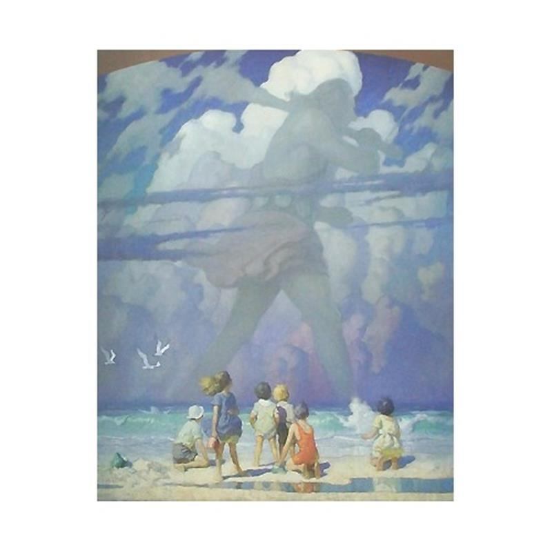 The Giant Art Reproduction by N.C. Wyeth,11-99-00080-9