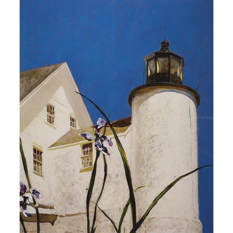 Iris at Sea Art Poster by Jamie Wyeth,11-99-00091-4