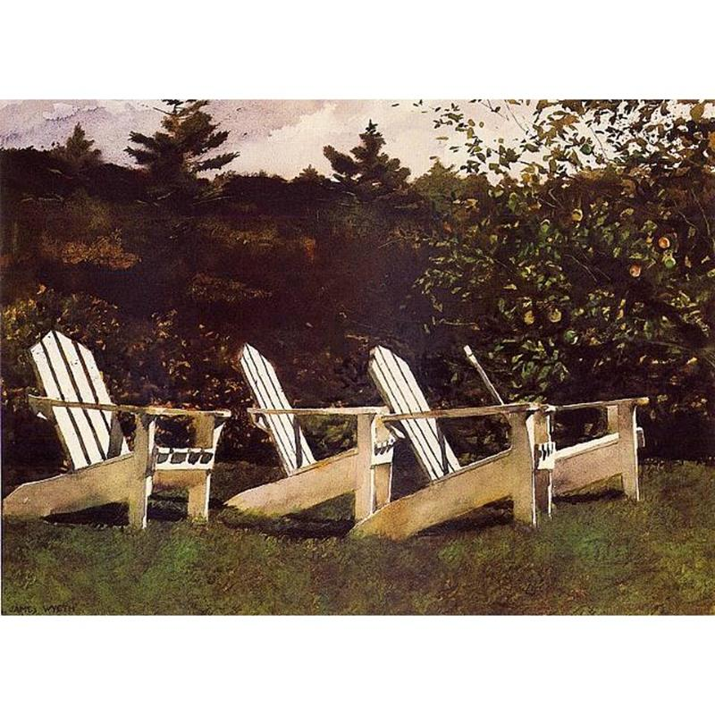Island Library Art Print by Jamie Wyeth,11-99-00092-2