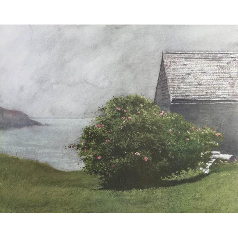 Island Roses Print — Jamie Wyeth,11-99-00093-0