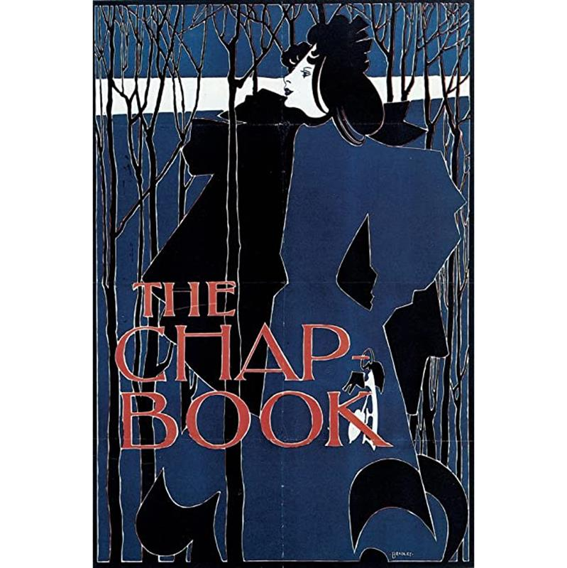 The Chap-Book (Blue Lady) Poster — Will H. Bradley,11-99-00136-8