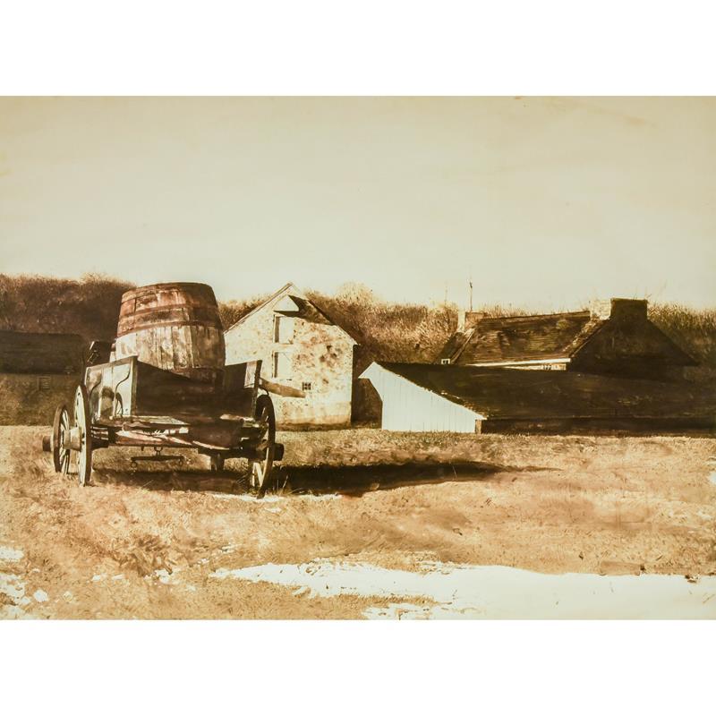 Cider Barrel Print — Andrew Wyeth,11-99-01647-0