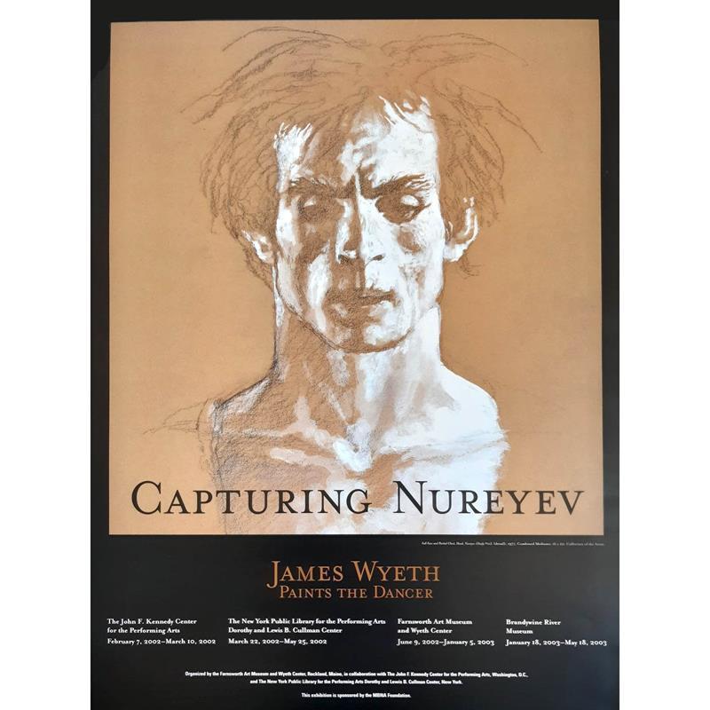 Capturing Nureyev Exhibition Poster — Jamie Wyeth,11-99-02294-2