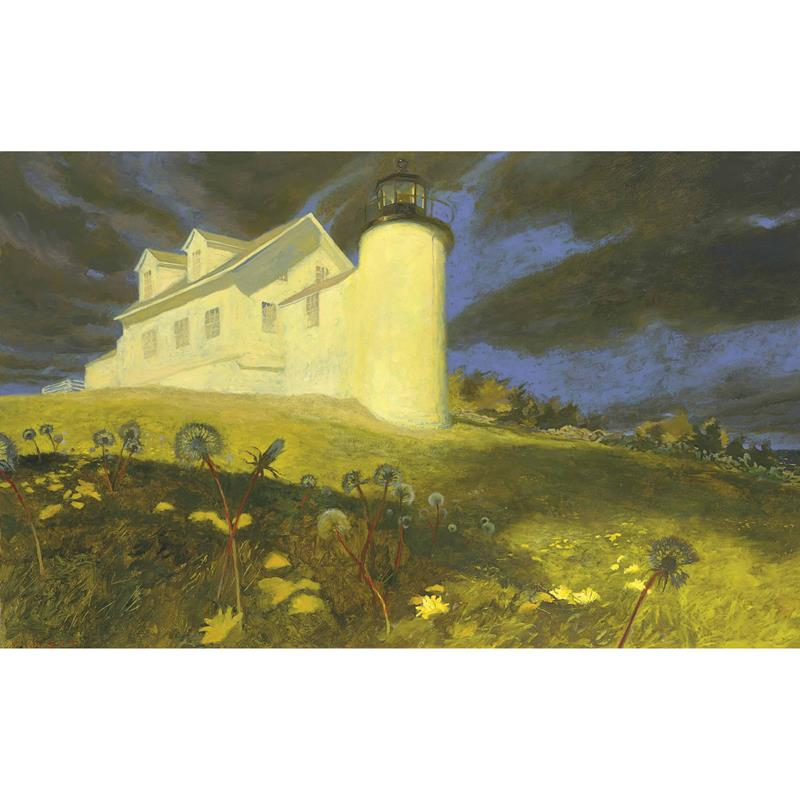 Lighthouse Dandelion Art Print by Jamie Wyeth,11-99-02669-7