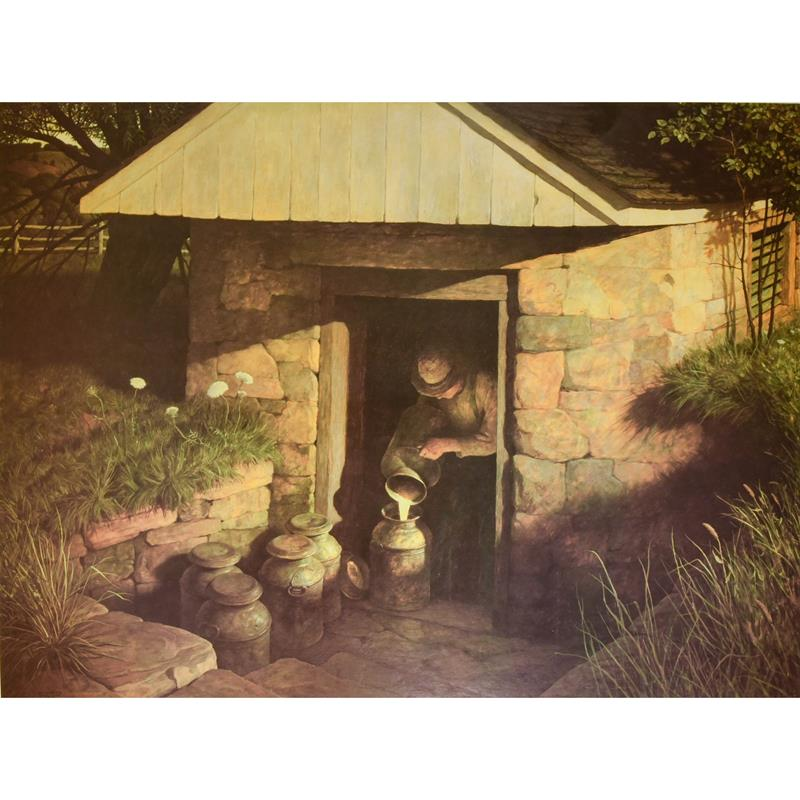 The Spring House Print — N.C. Wyeth,11-99-03475-4