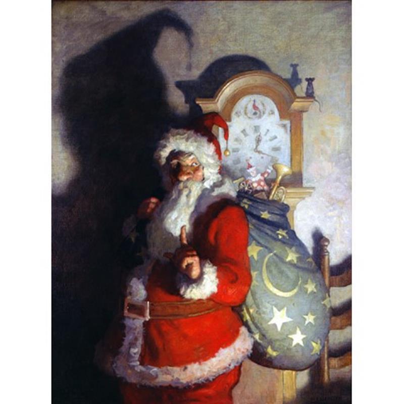 Old Kris Print — N.C. Wyeth,11-99-05074-1