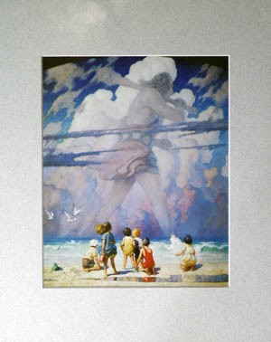 Giant Matted Art Print by N.C. Wyeth,11-99-05146-2
