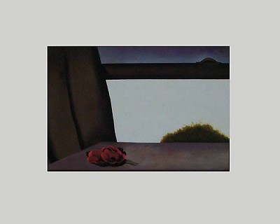 Open Window Matted Art Print,11-99-05535-2