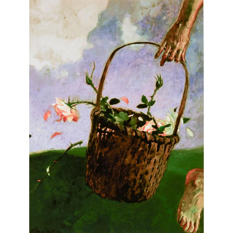 Rose Thief Signed Limited Edition Print — Jamie Wyeth,11-99-05906-4