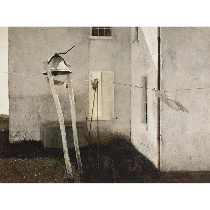 Slight Breeze Limited Edition Art Print by Andrew Wyeth,11-99-06049-6