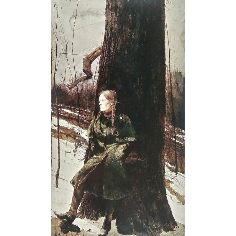 Cape Coat Art Poster by Andrew Wyeth,11-99-00045-0
