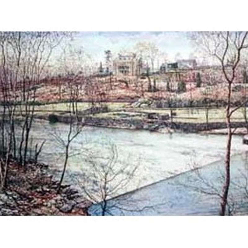 Eleutherian Mills Print — A.N. Wyeth,11-99-00120-1