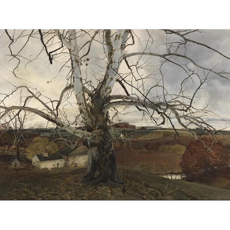 Pennsylvania Landscape Art Print by Andrew Wyeth,11-99-01733-7