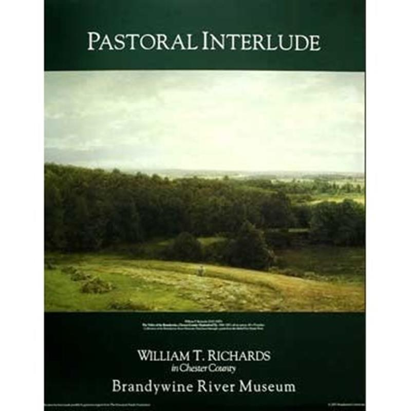 Pastoral Interlude Exhibition Poster — W.T. Richards,11-99-01936-4