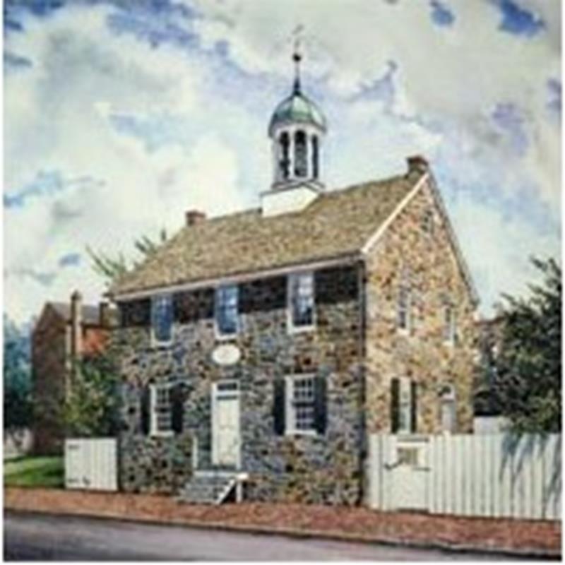 Brandywine Academy Print — A.N. Wyeth,11-99-03835-0