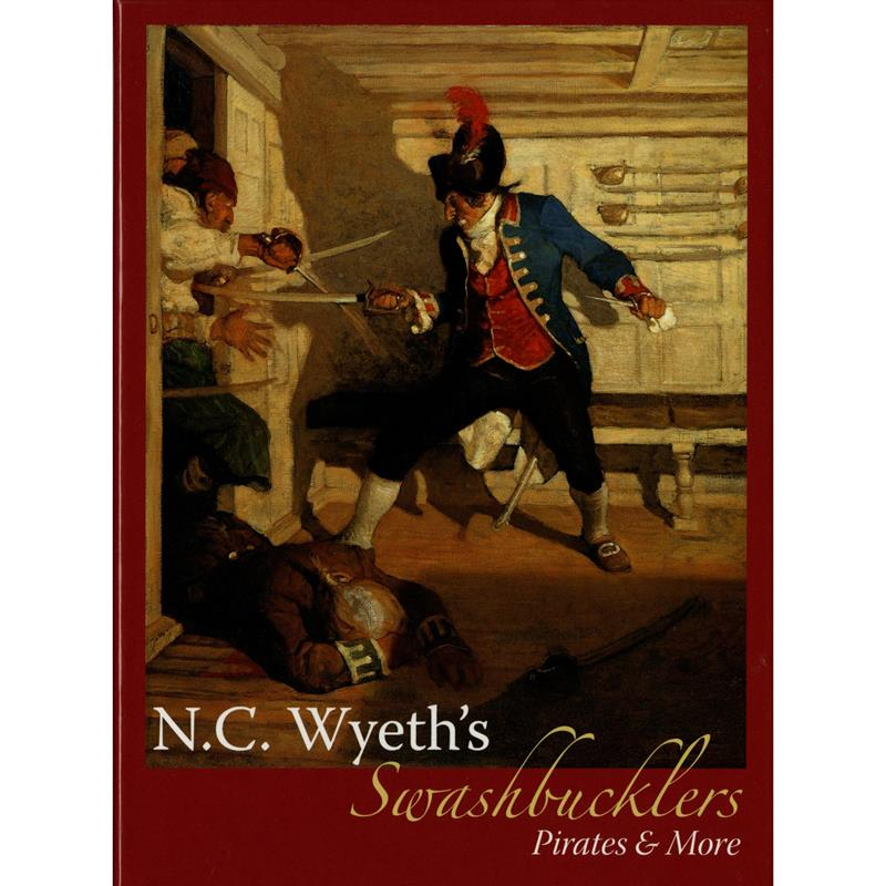 N. C. Wyeth's Swashbucklers Pirates & More Notebox,11-99-04808-9