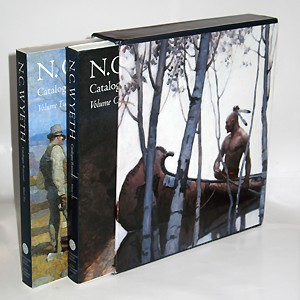 N.C. Wyeth Catalogue Raisonne- 2 Volume Set,1-85759-478-9