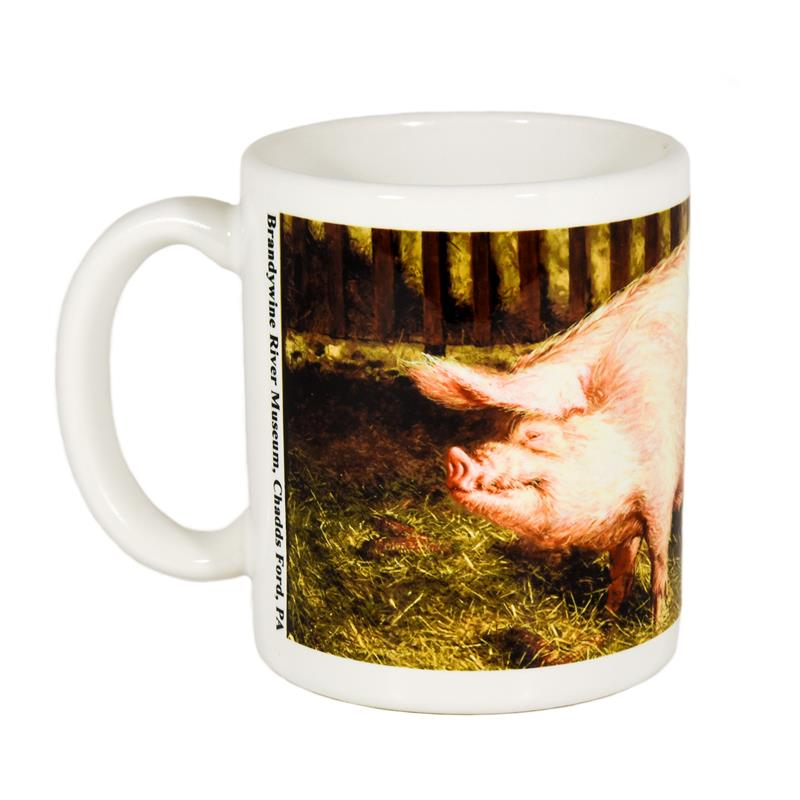 Portrait of Pig Mug