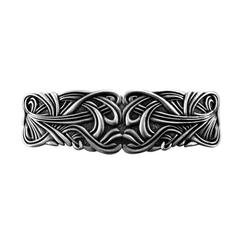 Art Nouveau Swirl Barrette,PB67