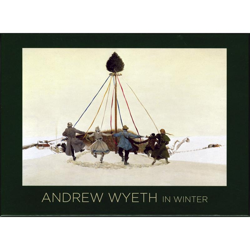 Andrew Wyeth in Winter Notebox