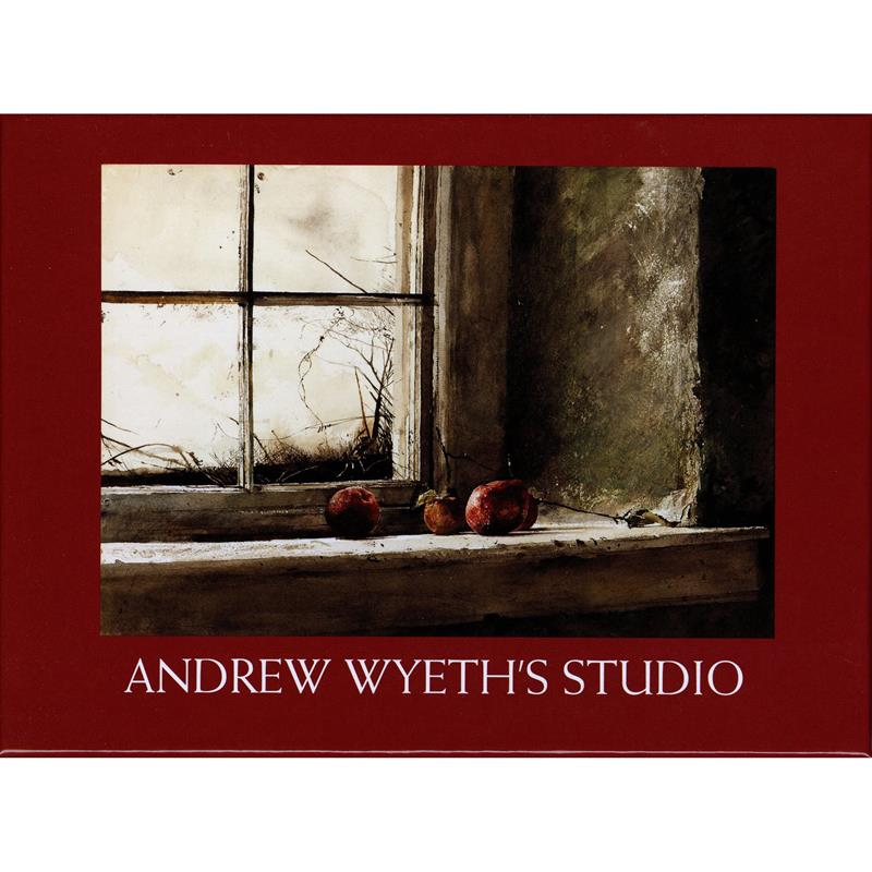 Andrew Wyeth's Studio Notebox Set