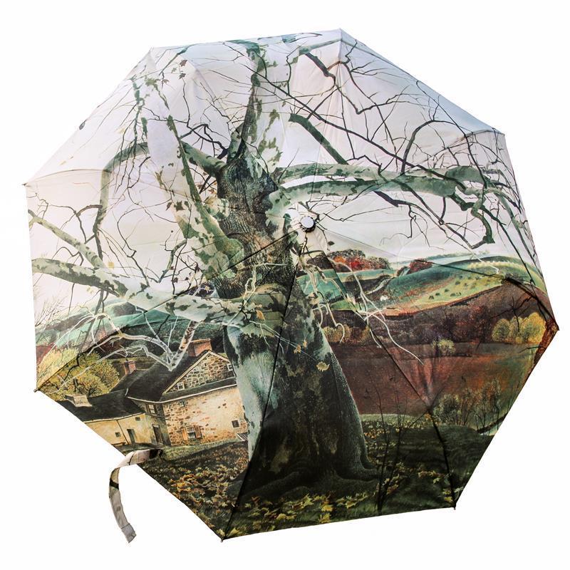 Andrew Wyeth's Pennsylvania Landscape Umbrella