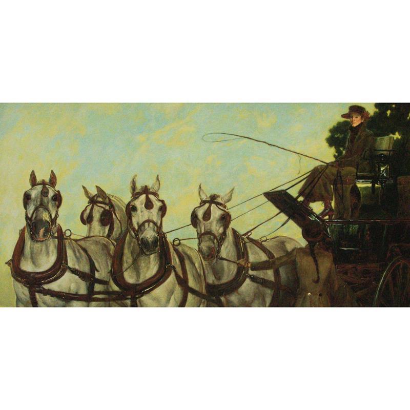 Connemara Four Signed Print — Jamie Wyeth