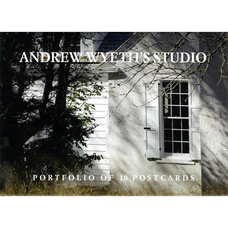 Andrew Wyeth's Studio, Folio of 10 Souvenir Postcards