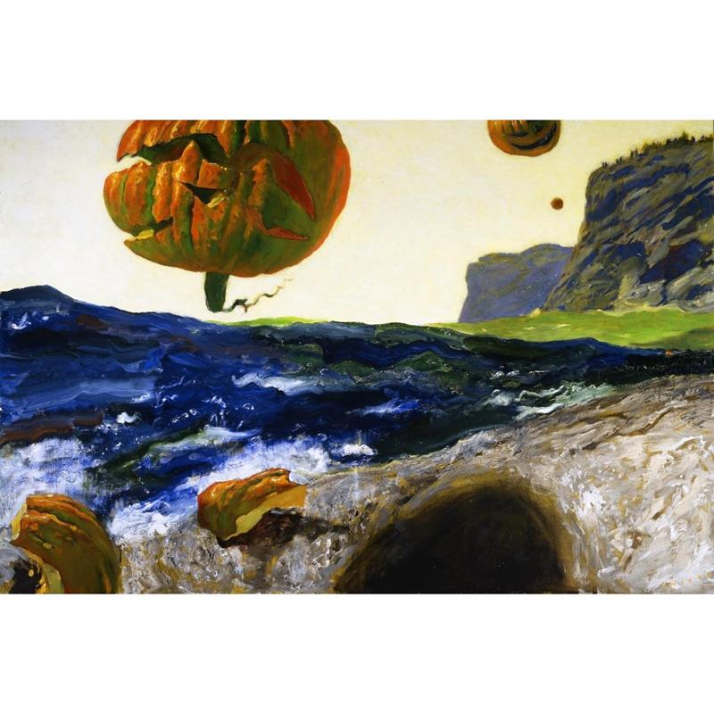 Headlands of Monhegan Art Print by Jamie Wyeth