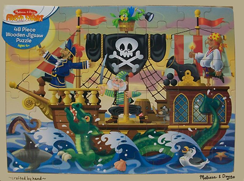 Pirate Adventure Puzzle,3800