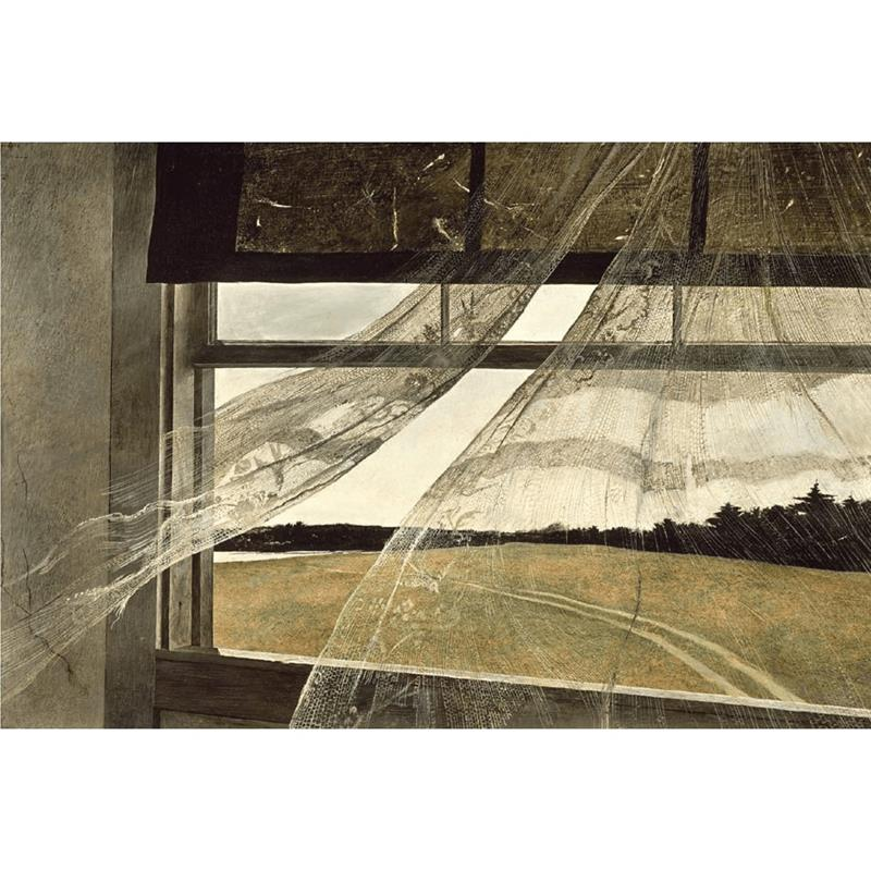 Wind from the Sea 11x14 Matted Print — Andrew Wyeth